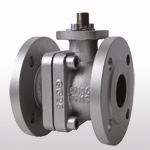 DIN 3357 Full Bore Cast Iron Ball Valve