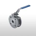 Wafer Type Stainless Steel Ball Valve Full Port PN16/40 (ISO-Direct Mounting Pad)