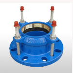 Restrained Flanged Adaptor for PE/PVC Pipes