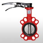 B15-YX Wafer Type Butterfly Valve with Pin
